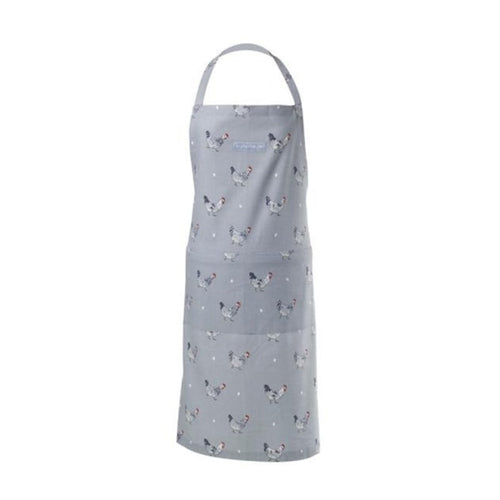 Sophie Allport Cooking Adult Apron in Chicken Print