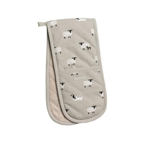 Sophie Allport Double Glove in Sheep Print