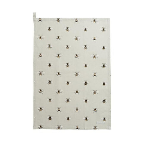 Sophie Allport Tea Towel in Bee Print