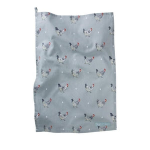 Sophie Allport Tea Towel in Chicken Print