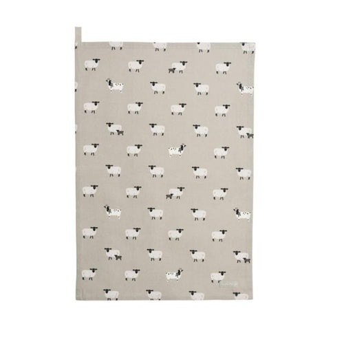 Sophie Allport Tea Towel in Sheep Print