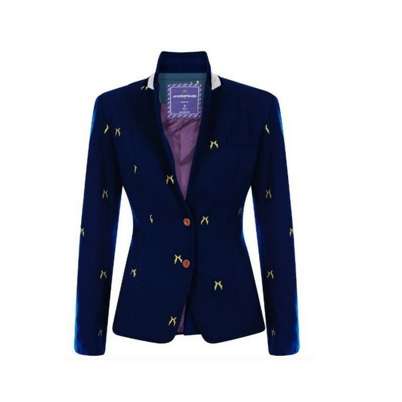 Sporting Hares Beauchamp Ladies Blazer in Blue