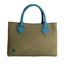 Ness Ebony Classic Tweed Handbag in Applecross Herringbone