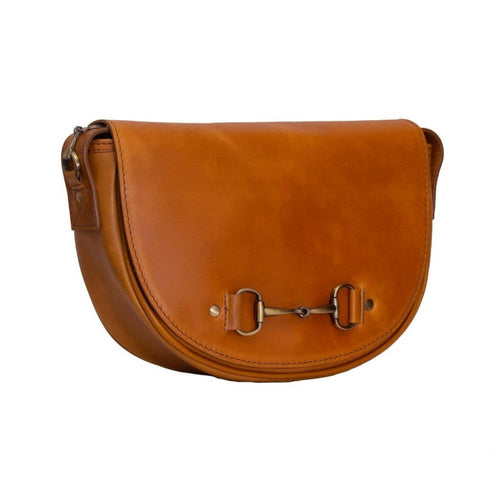 Grays of Shenstone Haston Handbag in Tan Leather
