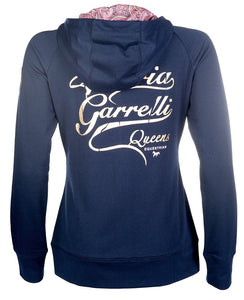 HKM Lauria Garrelli Ladies Queens Sweat Jacket Hoodie
