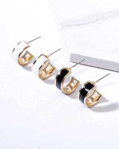 CANNES CLASSIC EARRINGS SET