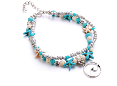 BREEZY CALYPSO LAYERED BRACELET