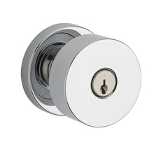 Contemporary Knob x Contemporary Round Rose - Keyed Entry