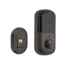 Baldwin Evolved Traditional Round Deadbolt Venetian Bronze 8231.112.B