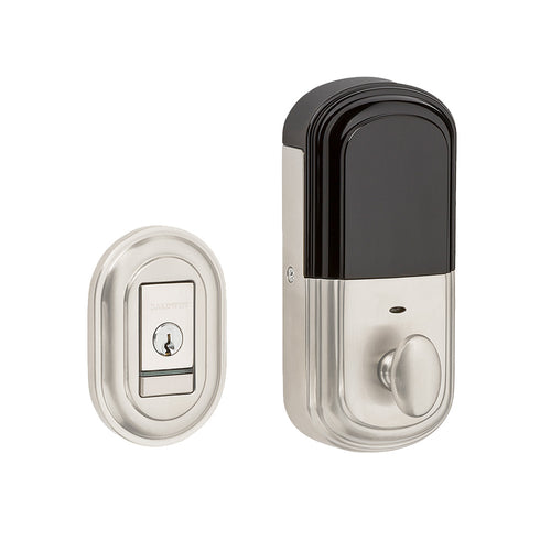 Baldwin Evolved Traditional Round Deadbolt Satin Nickel 8231.150.B