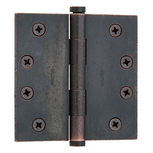 "4"" Square Corner Hinge 1040 - Premium Finish"
