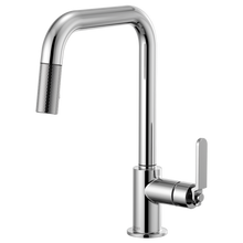 Litze Pull-Down Faucet w/ Square Spout and Industrial Handle