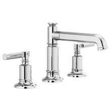 Invari Widespread Lavatory Faucet With Column Spout & Lever Handle Kit