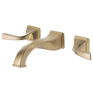 Brizo Virage Two Handle Wall-Mount Lavatory Faucet