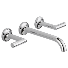 Brizo Odin Two Handle Wall Mount Lavatory Faucet