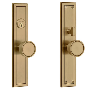 Hollywood Hills Knob x Knob Entrance Trim