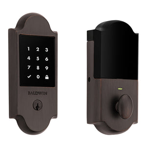 Boulder Touchscreen Electronic Smart Deadbolt - Connected