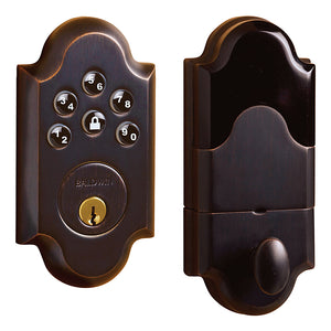 Baldwin Electronic Boulder Deadbolt - Keypad Entry