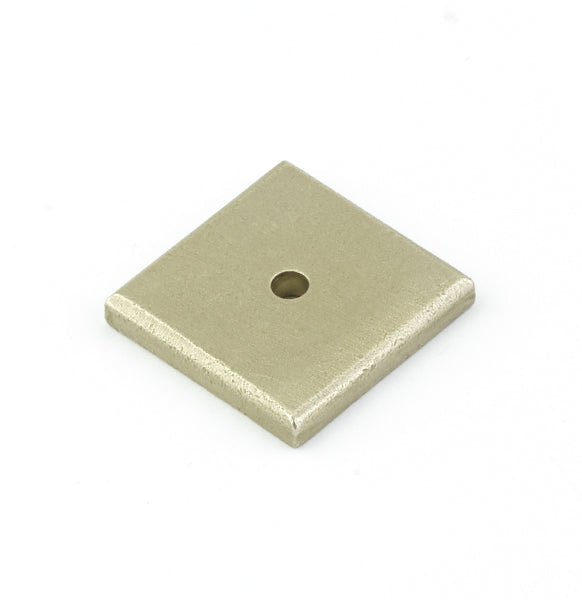 Sandcast Bronze Square Back Plate