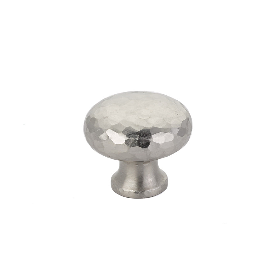 Round Dimpled Cabinet Knob