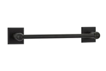 "Emtek Sandcast Bronze Towel Bar 12""  Model #: 23024"