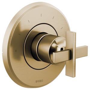 Levoir Sensori® Thermostatic Valve Trim- Cross Handle