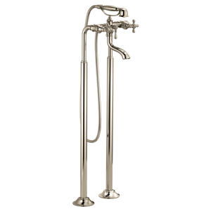 Tresa Two-Handle Tub Filler Trim Kit with Cross Handles