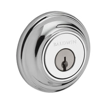 Baldwin Traditional Round Deadbolt Single Cylinder Polished Chrome Model # SC.TRD.260