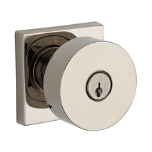 Contemporary Knob x Contemporary Square Rose - Keyed Entry