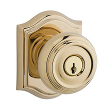 Traditional Knob x Traditional Arch Rose - Keyed Entry