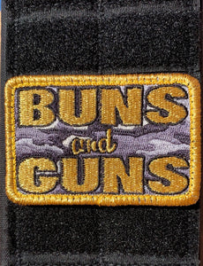Buns and Guns Patch