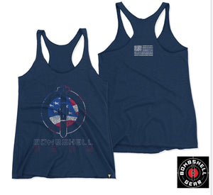 Women's Tank - Red, White & Blue