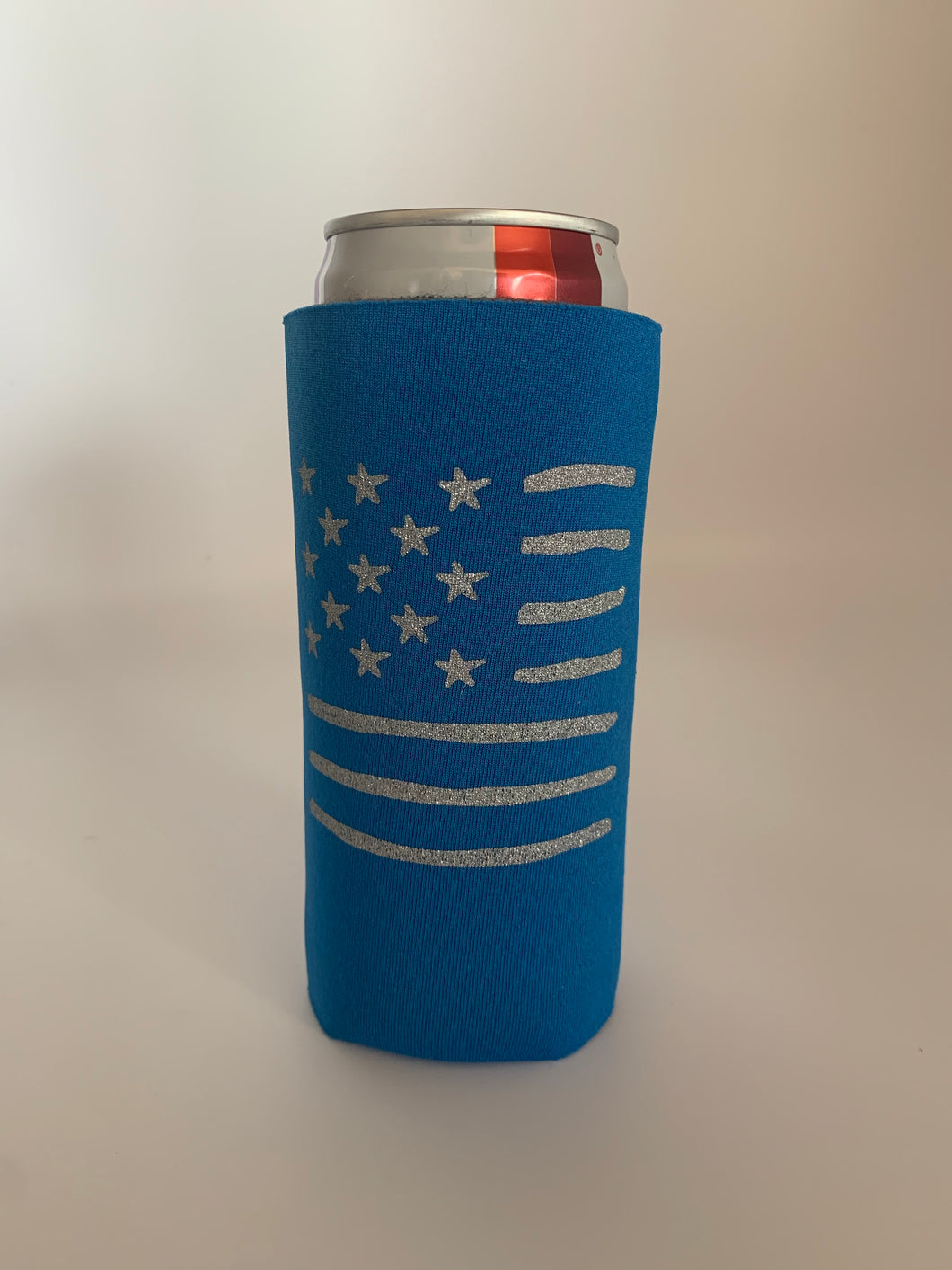 Patriotic Slim Can Cooler