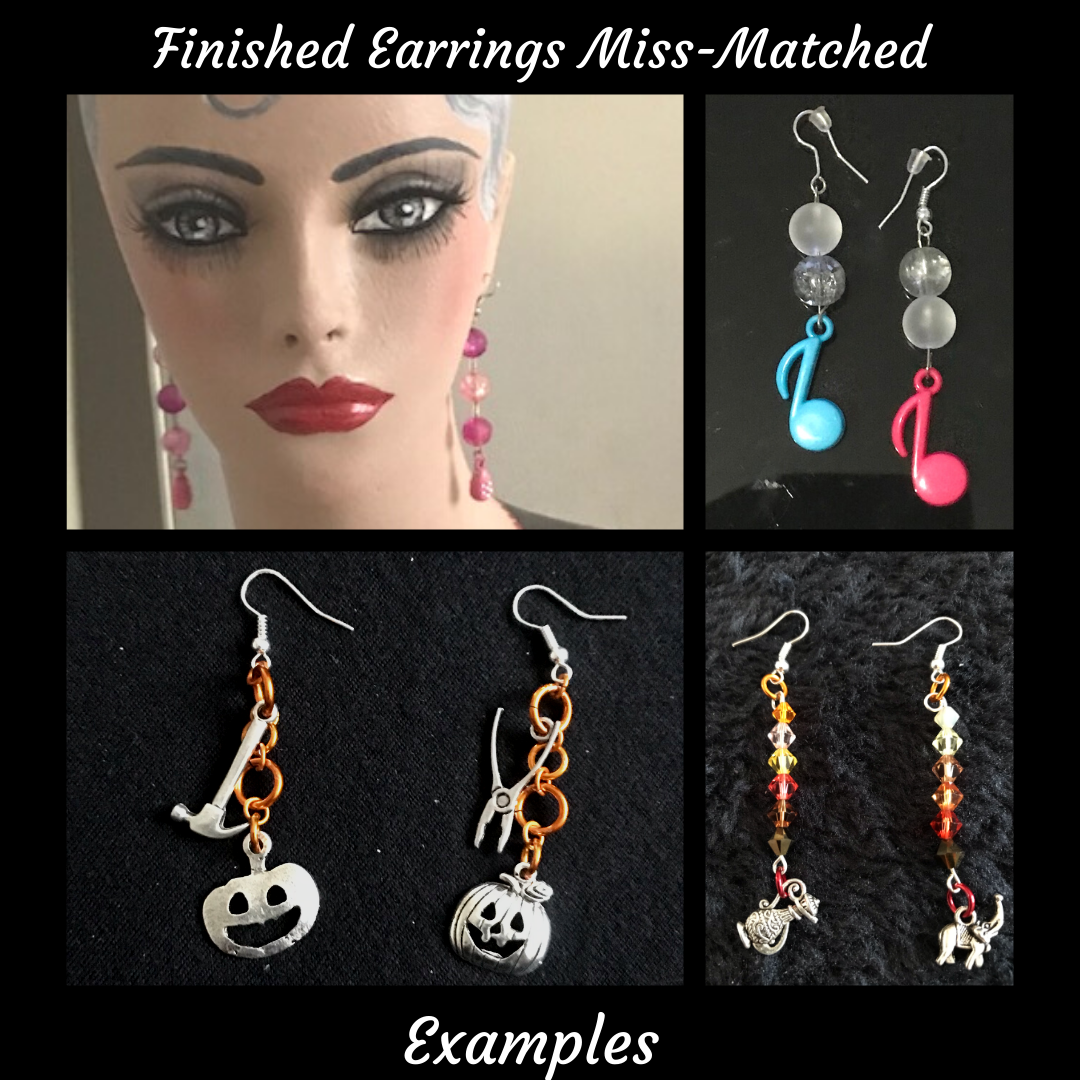 Design Your Dream Earrings Miss-Matched From £42