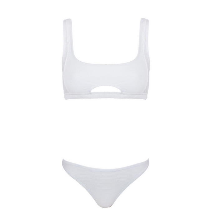STASSI 2-Way Set - Ivory White