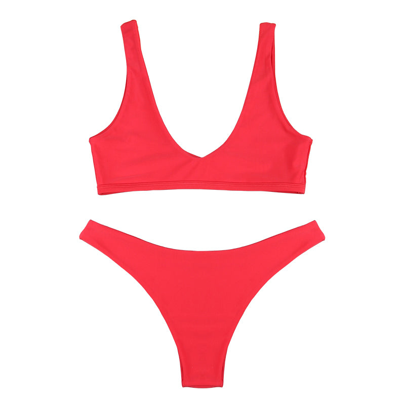 ELOISE Bikini Set - Scarlet Red