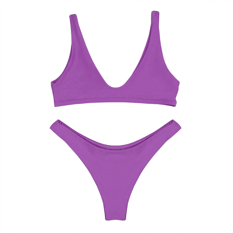 ELOISE Bikini Set - Purple