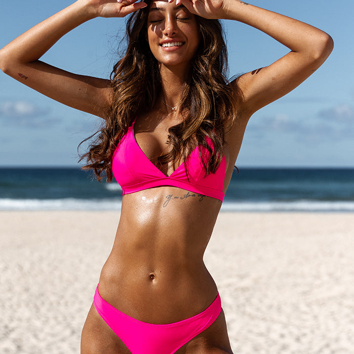 SASHA Bikini Set - Barbie Pink