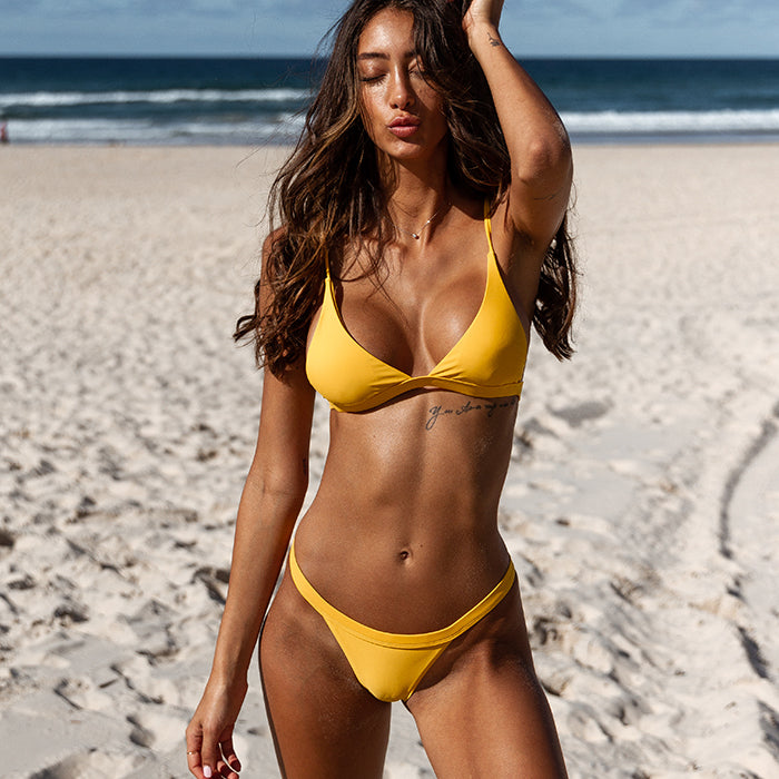 HARRIET Bikini Set - Lemon