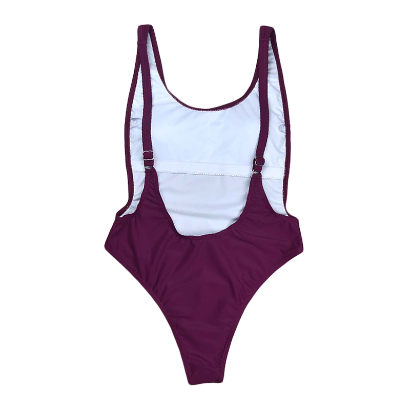 ZAHARA One Piece Swimsuit - Merlot