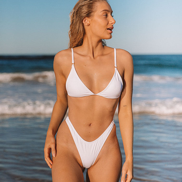 CORA Bikini Set - Angel White
