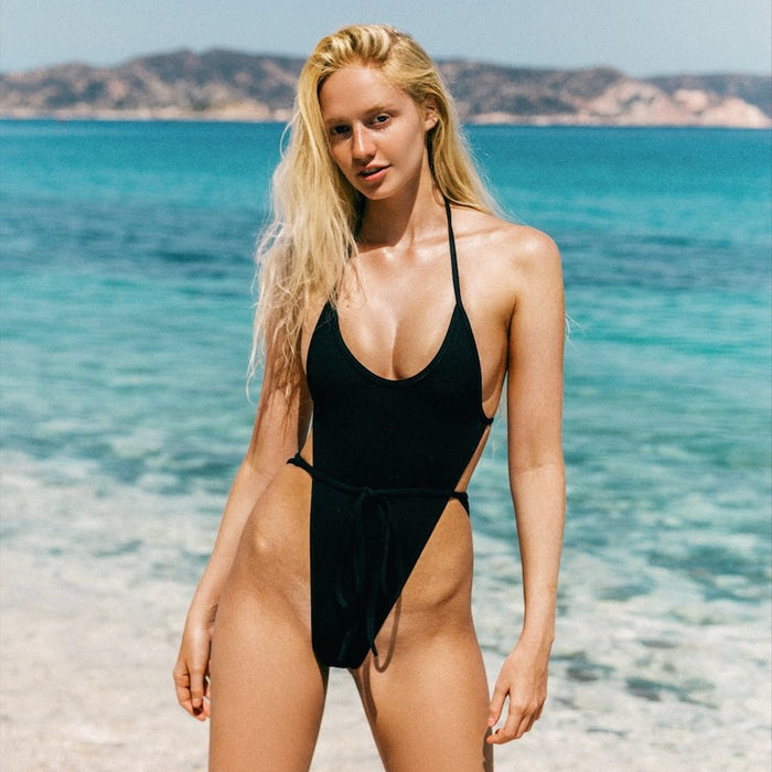 MARLO One-Piece Swimsuit - Midnight