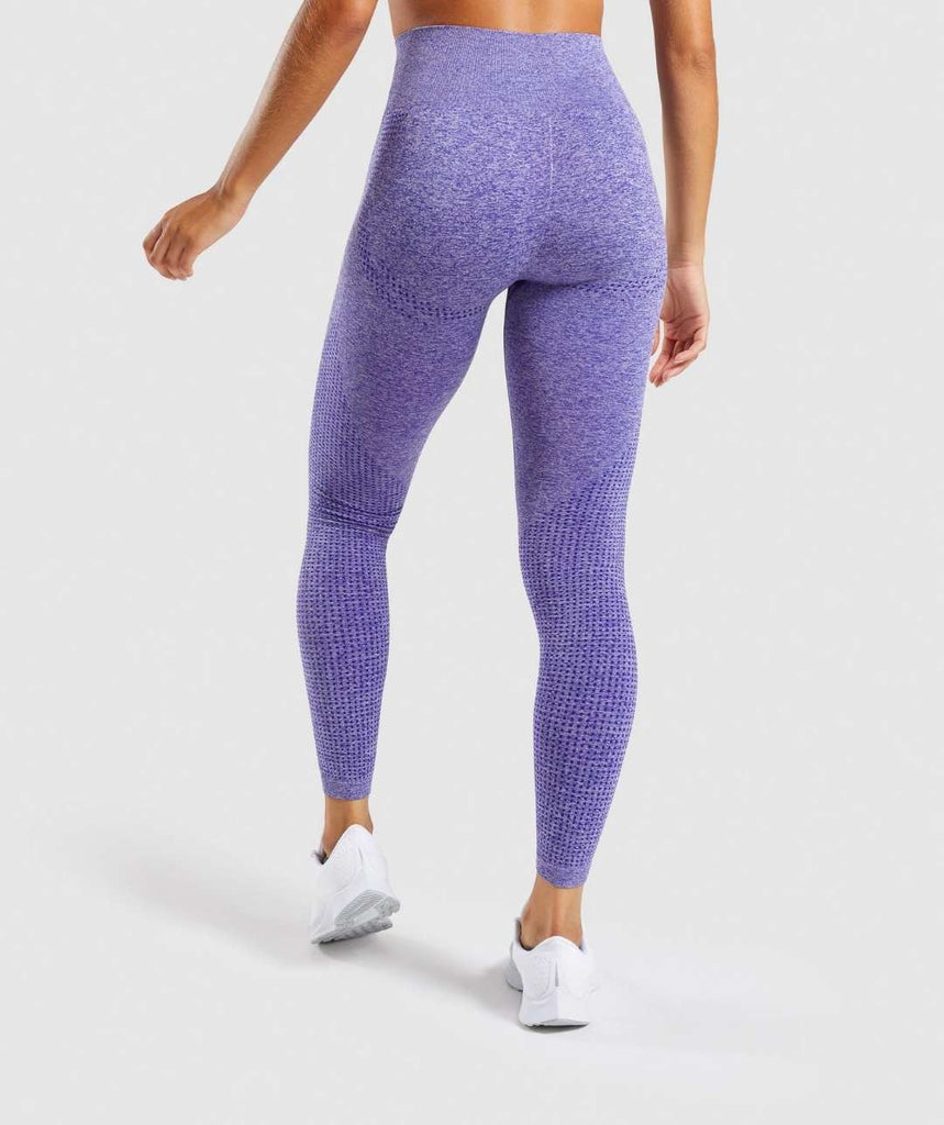 Power Babe High Waist Leggings - Indigo