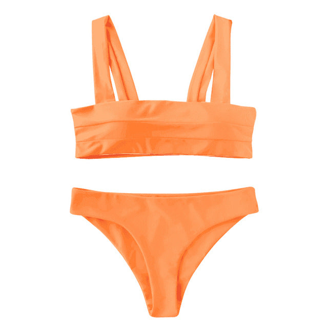 TATUM Bikini Set - Orange