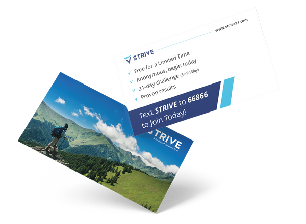 STRIVE Cards (Box of 250)