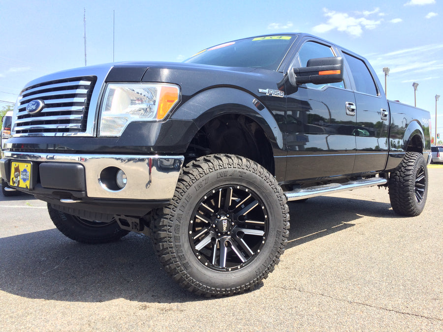 "2010 Ford F150 SuperCrew 4WD Lifted by Autolinc The Richmond Truck Authority 6"" Rough Country Suspension Lift Kit Installed with 37x12.50x20"" Radar Renegade R7 M/T tires on 20x10"" Moto Metal MO978 Razor wheels #GetLiftedAtAutolinc"