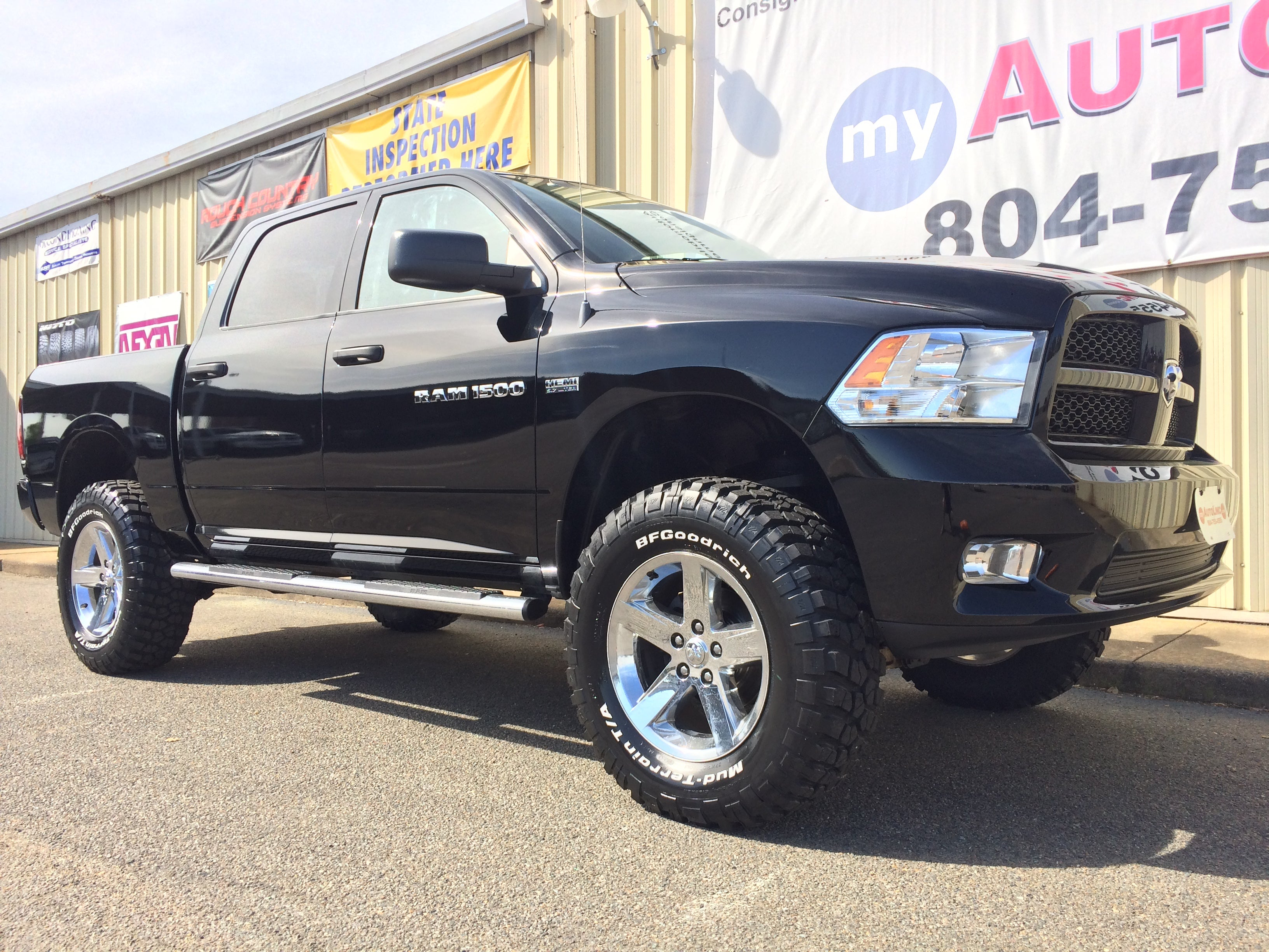 "2012 2017 RAM 1500 4WD 6"" Rough Country Suspension Lift Kit w"