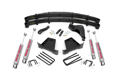 "2000-2005 Ford Excursion 4WD 5"" Rough Country Suspension Lift Kit w/4 Premium N2.0 Series Shocks - ONLY $770* to INSTALL"