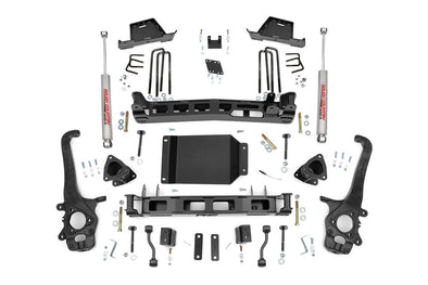 "2004-2015 Nissan Titan 4WD/2WD 6"" Rough Country Suspension Lift Kit w/Premium N2.0 Series Shocks - ONLY $940* to INSTALL"