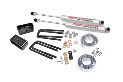 "1999-2006 Toyota Tundra 4WD/2WD 2.5"" Rough Country Suspension Lift Kit w/Premium N2.0 Series Shocks"